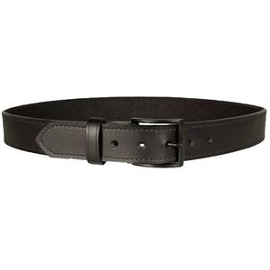 "DeSantis Econo Belt 1.5"" Width Size 38"" Bonded Leather Powder Coated Buckle Black E25BJ38Z3"