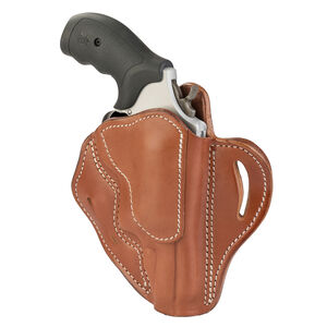 1791 Gunleather RVH-3 OWB Belt Holster for Z Frame Revolvers Right Hand Draw Leather Classic Brown
