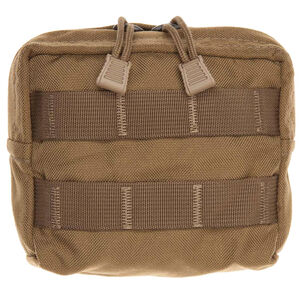 "Tac Shield Compact Gear Pouch 5""x5""x2"" Nylon Coyote Tan T4101CY"