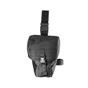 """High Speed Gas mask Pouch V2 12""""L x 4""""H x 10""""D Cordura Black"""