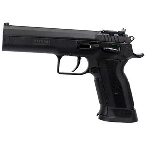 "EAA Witness P Match Single Action Semi Automatic Pistol 9mm Luger 4.75"" Barrel 17 Rounds Polymer Competition Frame Single Action Trigger Fully Adjustable Super Sight Black Finish"