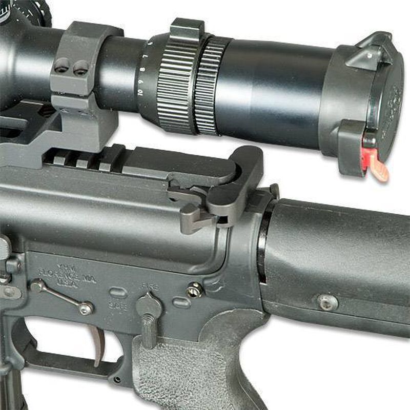 Bravo Company BCMGUNFIGHTER Charging Handle .223/5.56 Mod 4B Medium Latch Aluminum Black BCMGFH556-MOD4