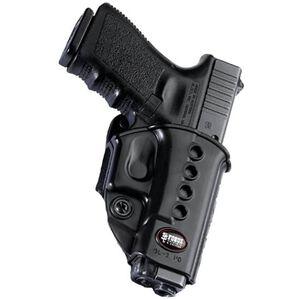 Fobus Evolution Holster SIG P250/P320 Right Hand Belt Attachment Polymer Black