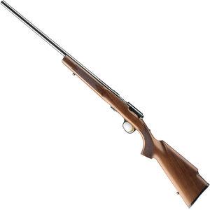 "Browning T-Bolt Target/Varmint Left Hand Bolt Action Rimfire Rifle .22 LR 22"" Heavy Barrel 10 Rounds Walnut Stock Black"