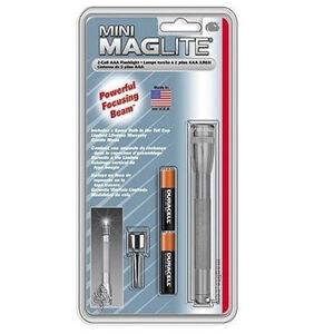 MagLite Mini MagLite AAA 2-Cell Incandescent Flashlight Gray