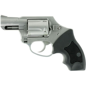 """Charter Arms Undercover Hammerless Revolver, .38 Special, 2"""" Barrel, 5 Rounds, Stainless/Black"""