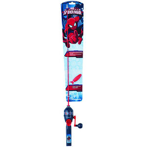 Shakespeare Spiderman Youth Fishing All-in-One Kit