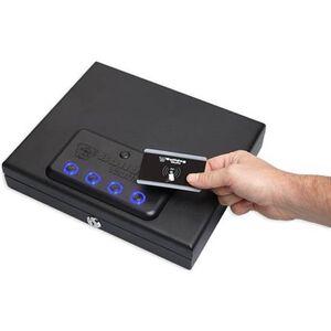 "Bulldog Biometric Fingerprint Pistol Vault Magnum Top Load 11.5""X9.8""X2.5 Black"