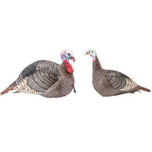Hunter's Specialties Strut-Lite Jake & Hen Turkey Decoy Combo