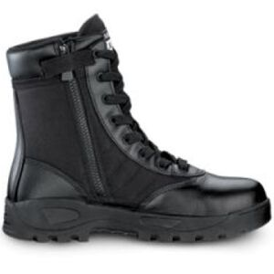 """Original S.W.A.T. Classic 9"""" SZ Safety Plus Men's Boot Size 9.5 Regular Composite Safety Toe ASTM Tested Non-Marking Sole Leather/Nylon Black 116001-95"""