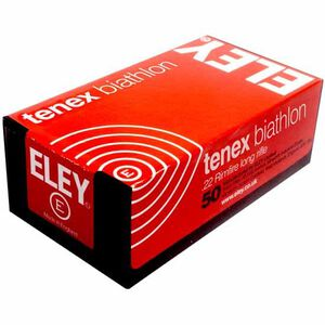 Eley Tenex Biathlon .22 LR  Ammunition 50 Rounds LFN 40 Grain