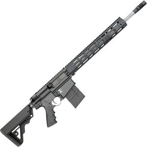 "Rock River Arms X-Series X-1 .308 Win AR-308 Semi Auto Rifle 18"" Fluted Stainless Barrel 20 Rounds Free Float Handguard Collapsible Stock Black"