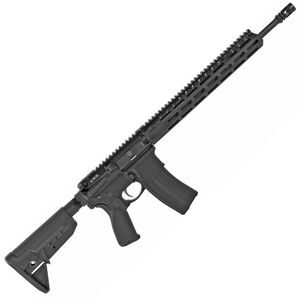 "BCM Recce-16 Lightweight Carbine AR-15 5.56 NATO Semi Auto Rifle 16"" Barrel 30 Round Magazine MCMR-13 Free Float Hand Guard Carbine Stock Matte Black"
