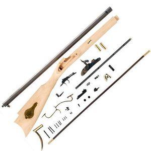 "Traditions Saint Louis Hawken Black Powder Rifle Kit .50 Caliber Percussion 28"" Octagonal Barrel Wood Stock KRC52408"