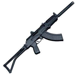 "Arsenal SAM7SFK-80 AK-47 7.62x39mm Semi Auto Rifle 16.2"" Barrel 30 Rounds Milled Receiver Folding Stock Matte Black"