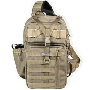"Maxpedition Gearslinger Kodiak Backpack 17""x10""x4"" Nylon Khaki"