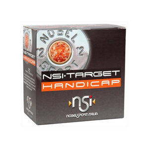 "NobelSport Target Handicap 12 Gauge 2-3/4"" #7.5 Lead 1-1/8 Ounce 25 Round Box"