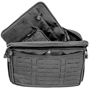"UTG 9-2-5 Briefcase, 16""x4""x12"", 1200D Polyester, Black"