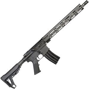 "I.O. Inc. M215-ML15 AR-15 Semi Auto Rifle 5.56 NATO 16"" Barrel 30 Rounds 15"" M-LOK Handguard Collapsible Stock Black Finish"