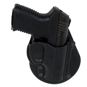 Fobus Taurus Millennium .32/.380/9mm Luger Belt Holster Right Hand Polymer Black TAMBH