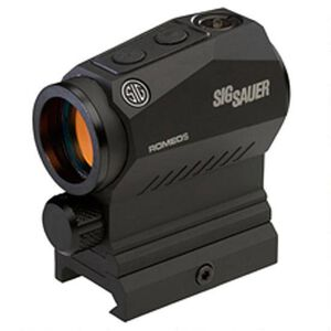SIG Sauer Romeo5 1x20mm Red Dot Sight 65 MOA Circle with 2 MOA Red Dot Reticle Matte Black