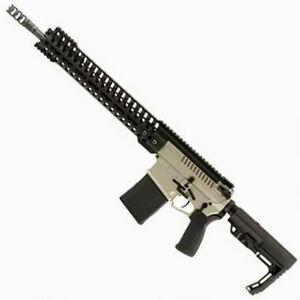 "POF Revolution AR Style Semi Auto Rifle .308 Winchester 16.5"" Match Grade Barrel 20 Rounds 14.5"" M-LOK Free Float Hand Guard MFT Pistol Grip/Stock NP3 Finish"