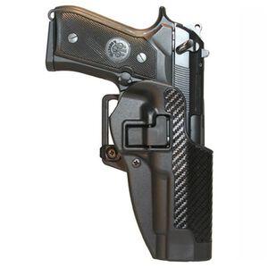 BLACKHAWK! CQC SERPA Belt Holster, Beretta 92/96 (not Elite/Brig), Black Carbon Fiber, Right Hand