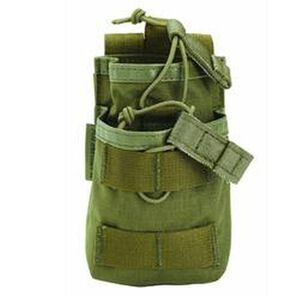 Blackhawk! Tier Stacked Magazine Pouch Nylon OD Green Holds 2x 20 Round M14 Magazines 37CL119OD