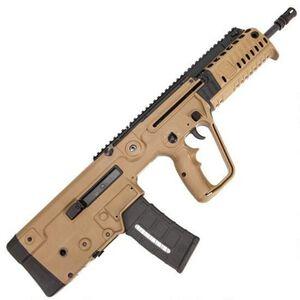 "IWI Tavor X95 Flatop XFD16 Semi Auto Rifle .300 AAC Blackout 16.5"" Barrel 30 Rounds NATO STANAG Type Magazines Reinforced Polymer Bullpup Stock Flat Dark Earth"