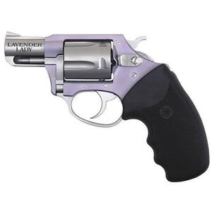 """Charter Arms Undercover Lite Chic Lady Revolver .38 Special 2"""" Barrel 5 Rounds Crimson Trace Laser Grip Lavender Aluminum Frame 53842"""