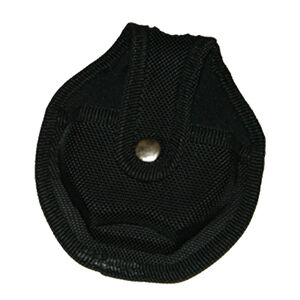 UZI Nylon Reinforced Handcuff Case with Metal Pocket Clip and Key Holder Black UZI-CUFFCASE