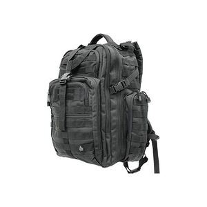 """Leapers UTG 3-Day Situational Preparedness Pack Tactical Backpack 20""""x16.5""""x10"""" MOLLE Compatible 1200 Denier Fabric Black PVC-P327B"""