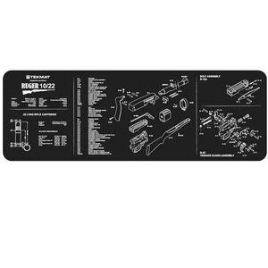 "TekMat ""Ruger 10/22"" Armorers Bench Mat 12""x36""x1/8"" Neoprene 36-1022"