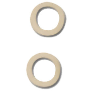 GrovTec Swivel Stud Spacers White 48 Count
