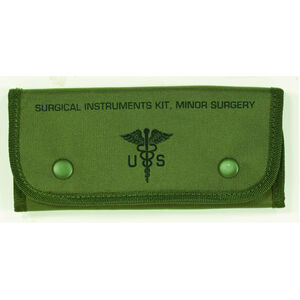 Voodoo Tactical Empty Surgical Kit Pouch Nylon OD Green 15-7688004000