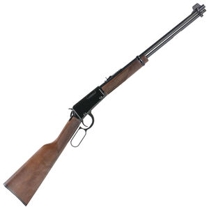 """Henry Repeating Arms Lever Action Rifle .22 Magnum 19.25"""" Barrel 11 Rounds Adjustable Sights Walnut Stock Blued Finish"""