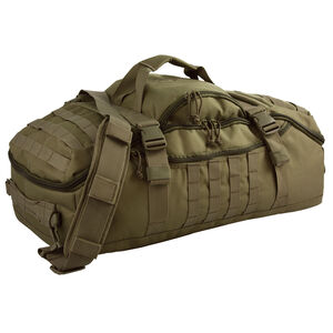 Red Rock Gear Traveler Duffle Bag 55 Liter Total Capacity MOLLE Compatible 600D Polyester OD Green