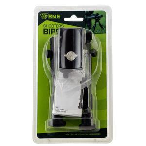 "GSM Outdoor/SME 6.5"" to 7"" Extendable Bipod Sling Swivel Stud/Weaver/Picatinny Mount Rubber Shoes 6061-T6 Aluminum Matte Black Finish"