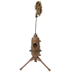 Mojo Critter 2 Electronic Predator Decoy 4 AA Batteries Built In Tripod Tan Finish