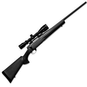 "Howa Hogue GameKing Scope Package Bolt Action Rifle .308 Win 22"" Barrel 5 Rounds Black Hogue Overmold Stock Blued Finish with Nikko Stirling GameKing 3.5-10x44 Rifle Scope HGK63107+"
