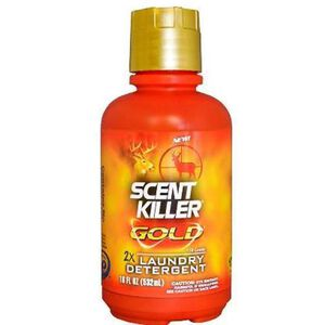 Wildlife Research Scent Killer Gold Liquid Clothing Wash 18 oz Bottle 1248