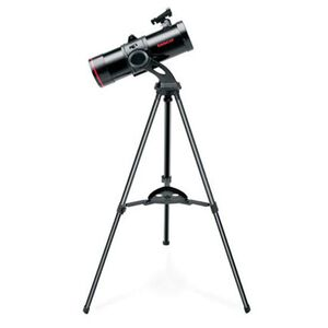 Tasco Spacestation 114x500 Compact Telescope Reflector Aluminum Black 9-91310