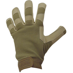Voodoo Tactical Crossfire Gloves Synthetic Small OD Green