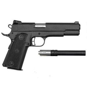 "Rock Island Armory 1911 Semi Auto Handgun 22TCM/9MM 4.2"" Barrel 17 Round Convertible Kit Parkerized Finish 51949"