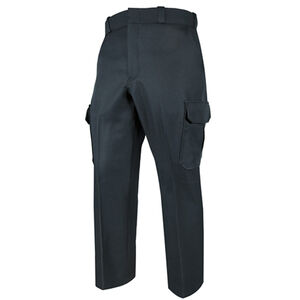Elbeco TEXTROP2 Men's Cargo Pants Waist 42 Unhemmed Polyester Textured Serge Weave Midnight Navy