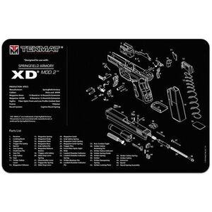 """TekMat Springfield Mod.2 Armorer's Mat Neoprene 11""""x17"""""""