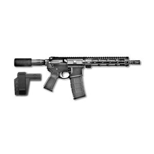 "FNH USA FN-15 AR-15 5.56 NATO Semi Auto Pistol 10.5"" Barrel 30 Rounds 9"" Free Float M-LOK Rail SBX-K Pistol Stabilizing Brace Matte Black Finish"