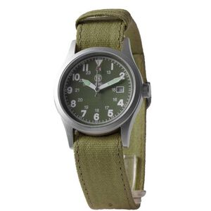Smith & Wesson Military Watch with Nylon Strap Water Resistant Olive Drab Face Black, Tan, Olive Drab SWW-1464-OD