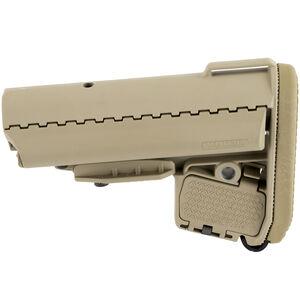 VLTOR AR-15 EMOD Mil-Spec Stock Storage Compartments Polymer Matte FDE