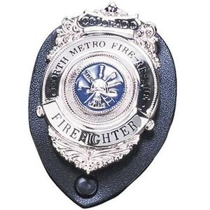 Strong Leather Company Clip On Badge Holder 71200